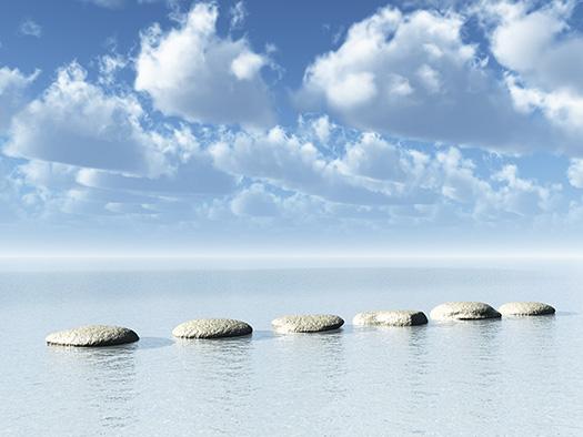 Kamienie i morze