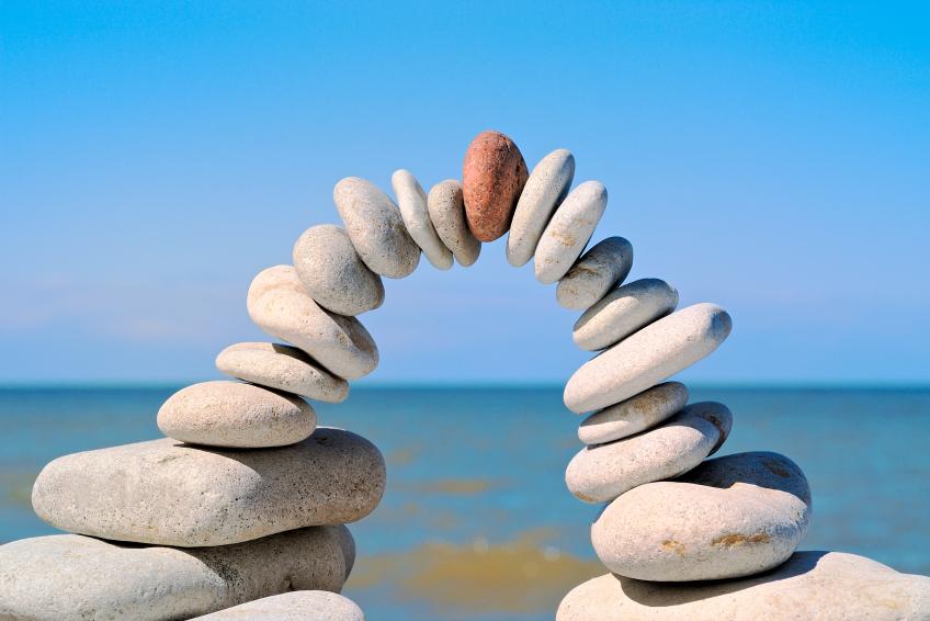 Stos z kamieni